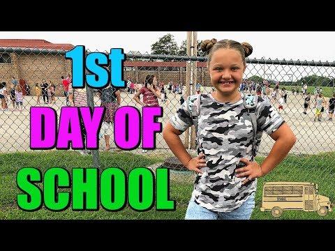 AUBREYS FIRST DAY OF SCHOOL 5th GRADE: GRWM