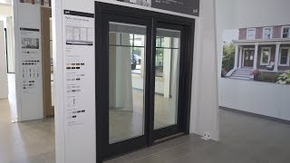 operating a pella lifestyle series sliding patio door with between the glass shades