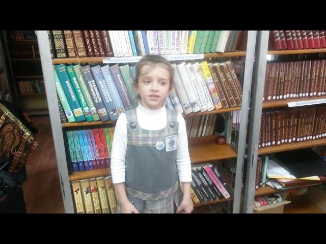 Изображение предпросмотра прочтения – АнастасияПозаченюк читает произведение «В классе» М.И.Цветаевой