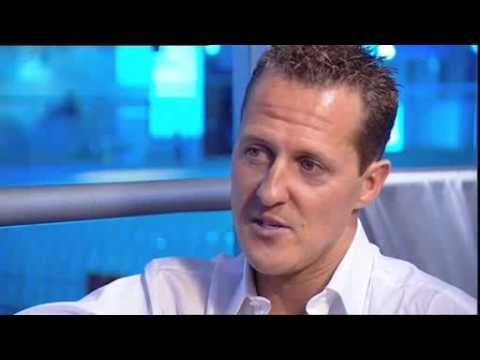 Inside Sport: Michael Schumacher interview 2008