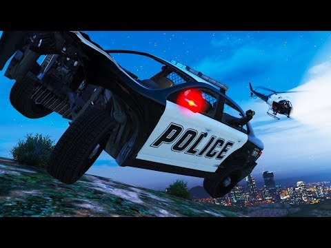 So flieht man vor der POLIZEI in GTA ONLINE!