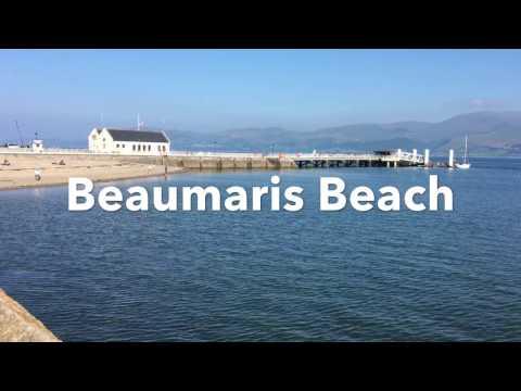 Beaumaris Beach on Anglesey
