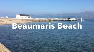 Beaumaris Beach on Anglesey