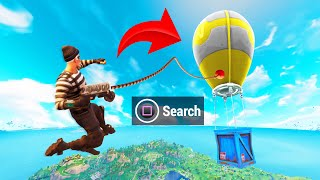 Can you GRAPPLE a LOOT CRATE in Fortnite?!