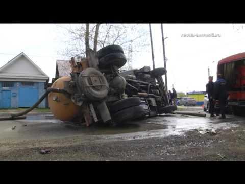Автоледи в Ревде перевернула ЗИЛ