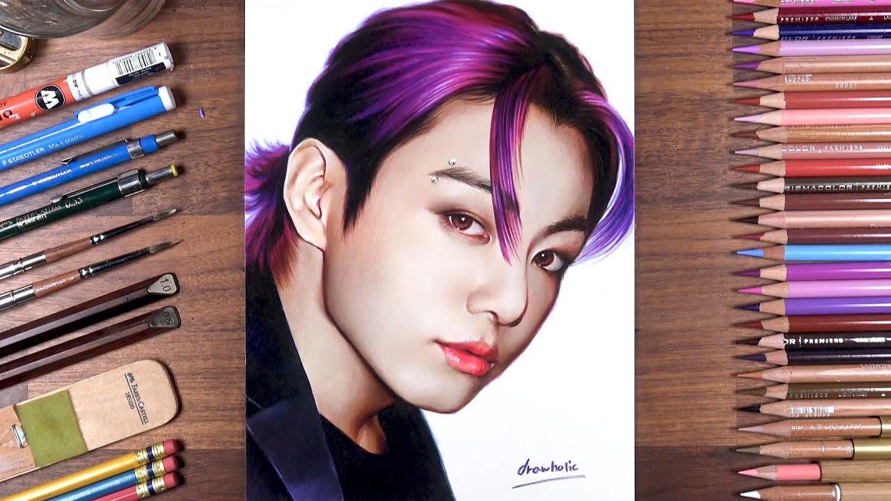 Drawing BTS: Jungkook | drawholic