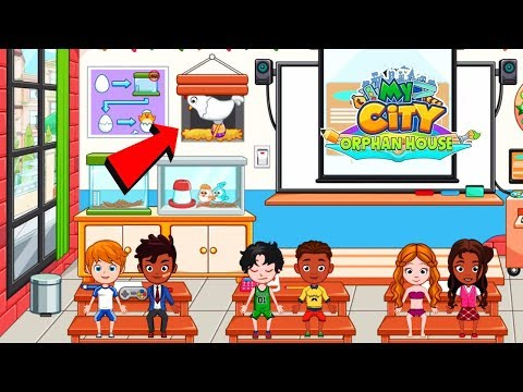My City : Orphan House - How to Find Secret Egg