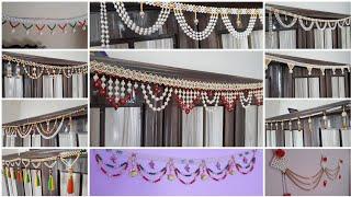 Top 10 pearl toran design 2019 for Ganpati, Navratri And Diwali Festival #wall_hanging