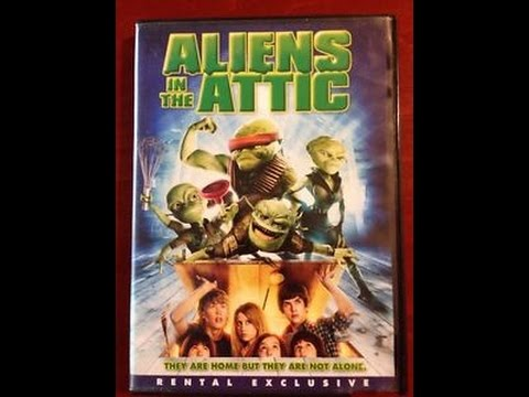 Opening To Aliens In The Attic Rental Exclusive 2009 Dvd