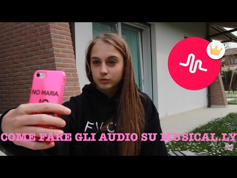 COME FARE GLI AUDIO SU MUSICAL.LY