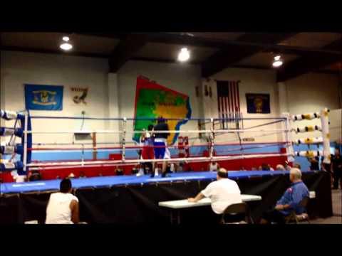 PIUMESHA Treaty days Boxing 2013 Jasper Smith vs Adam Will