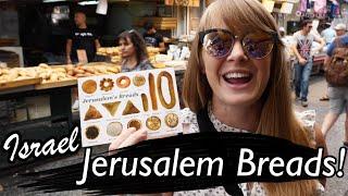 Israeli Jerusalem Breads Mukbang!