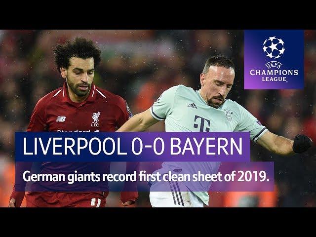 Liverpool vs Bayern Munich (0-0) | UEFA Champions League Highlights
