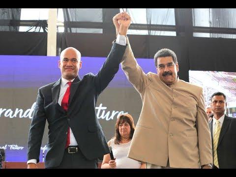 Juramentación y toma de posesión de Héctor Rodríguez como gobernador, 19 octubre 2017