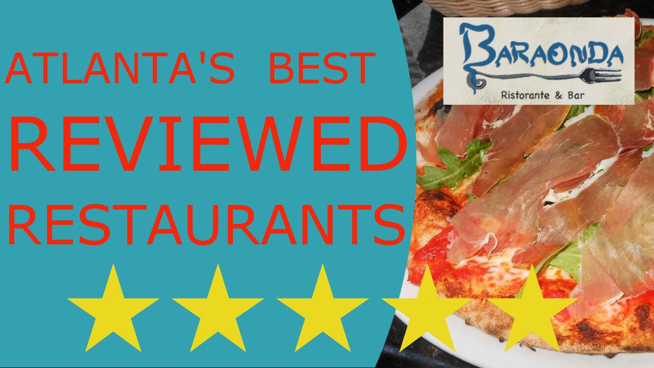 Baraonda Italian Restaurant Reviews Atlanta Ga Youtube