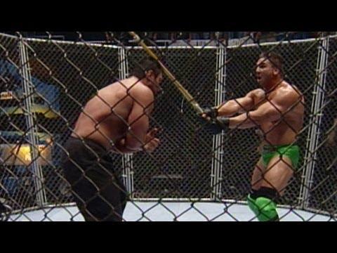 Ken Shamrock vs. Steve Blackman  Lion's Den Match