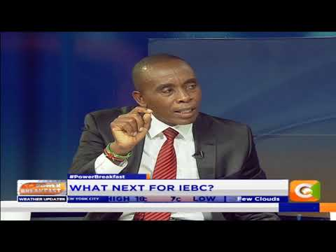 Power Breakfast:Newspaper Review:Can IEBC be resuscitated?