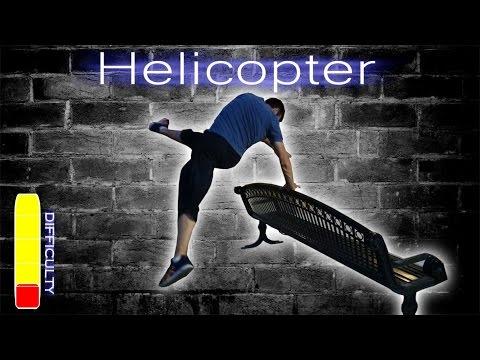 How to Helicopter / Leg Swipe - Free Running Tutorial