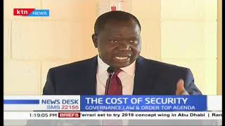 Matiang\'i calls the public to support the police in combating crime