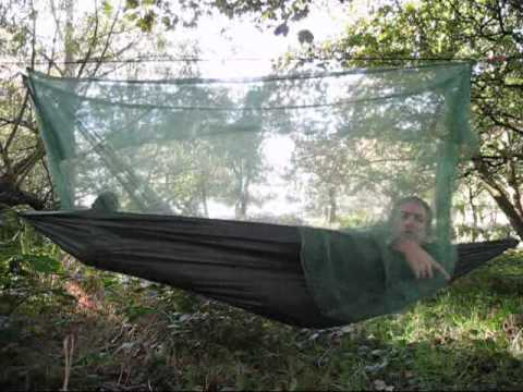 Bushcraft  Nomad Tropical Hammock  Mosquito Net  Review