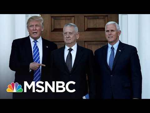 General James Mattis Top Contender For Defense Secretary | Morning Joe | MSNBC