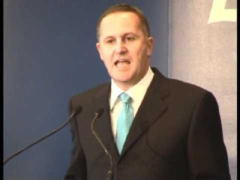 John Key State of the Nation speech