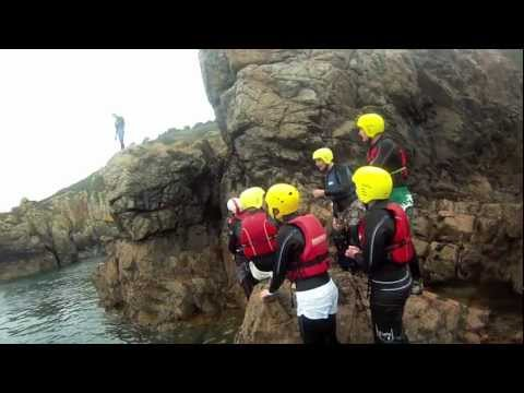 Coasteering in Guernsey