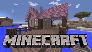 Minecraft: Balıkçı Evi Yapımı