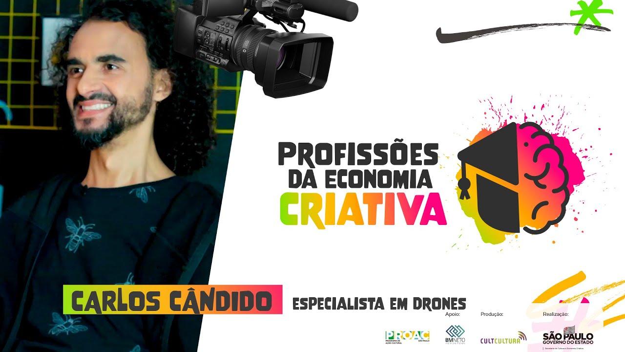 O poder encantador dos drones: Descubra nessa entrevista com Carlos Cândido
