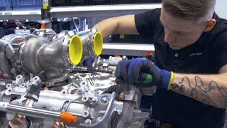 Here's How a Mercedes-AMG V8 Engine Is Built
