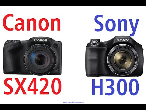 Canon PowerShot SX420 IS vs Sony Cyber-shot DSC-H300