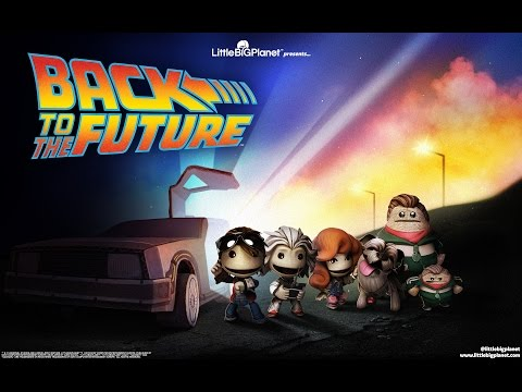 Back to the Future comes to LittleBigPlanet 3 today