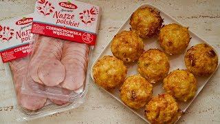 Muffiny z szynką i serem - przepis na pyszne śniadanie i nie tylko