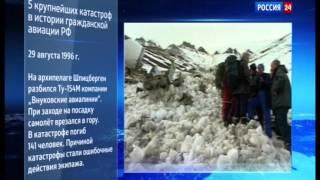 Самые масштабные авиакатастрофы Российской гражданской авиации