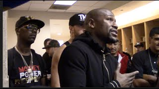 FLOYD MAYWEATHER - 'I MADE $400,000,000 JUST FROM THE PACQUIAO & CANELO FIGHTS ALONE!!
