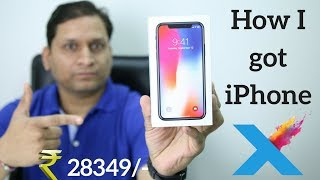 iPhone X Fun Unboxing | Got it @ ₹28,349 only