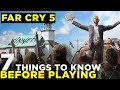 Far Cry 5 BEGINNER'S GUIDE | 7 Tips If You're Just Starting Out