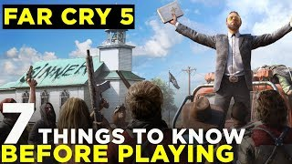 FAR CRY 5: 7 Tips If You're Just Starting Out [Beginner's Guide]