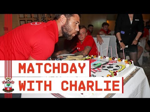 MATCHDAY! Behind the scenes with Southampton's Charlie Austin
