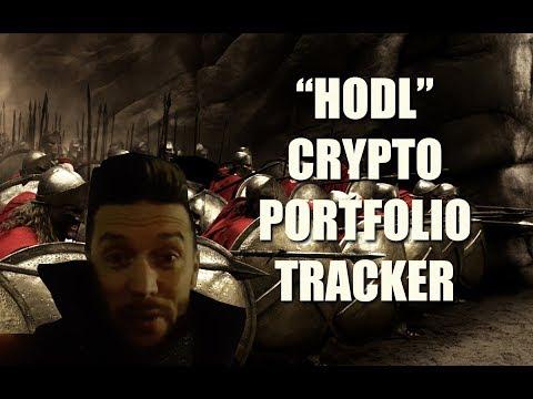 "Track Your Crypto Portfolio with ""HODL"""