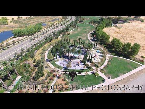 Perfect Mountain House CA. DJI Phantom 3 Pro Aerial Video   4K