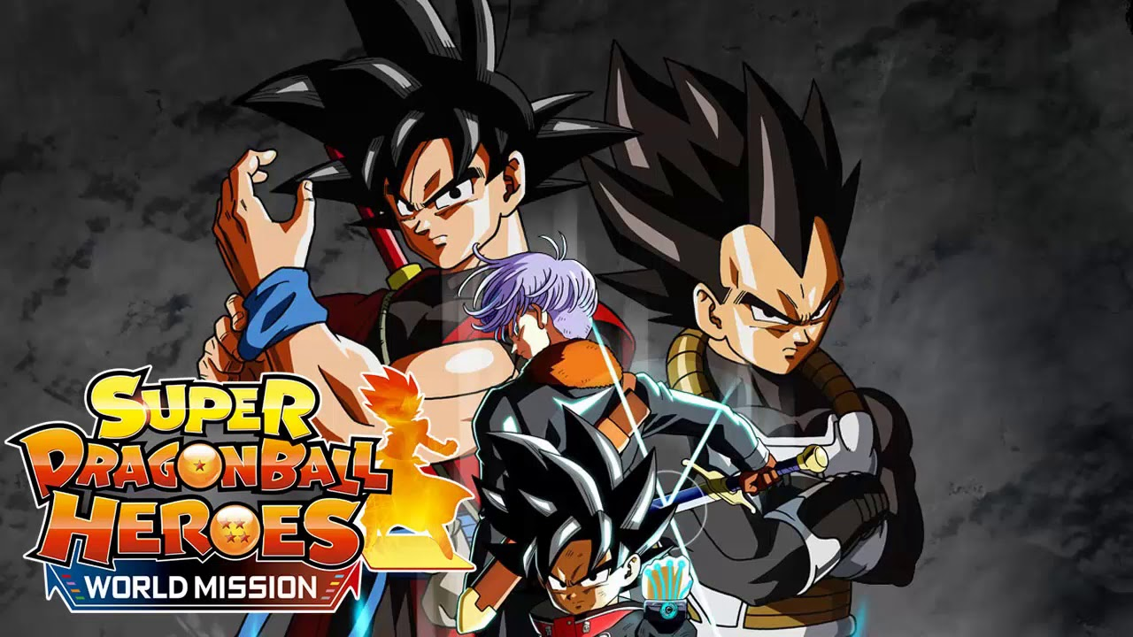 Super Dragon Ball Heroes: World Mission OST - One-On-One Battle [Extended  Version]