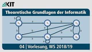 04: Theoretische Grundlagen der Informatik, Vorlesung, WS 2018/19