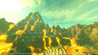 Zelda Breath of the Wild (Death Mountain) - 4K 60FPS Looping Background by Henriko Magnifico