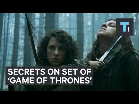 Keeping secrets on the set of 'Game of Thrones'