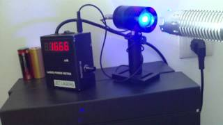 1.6w 445nm 447nm 450nm Blue Laser Handheld, Pl-e V3.0
