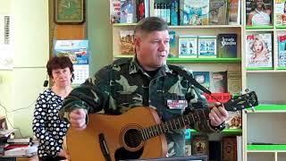 Олександр Ковальов на уроці мужності в Українській міській бібліотеці
