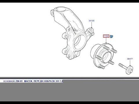 как снять кулак Ford Focus 2