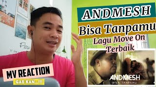 Andmesh - Bisa Tanpamu (Official Music.Video) | MV REACTION