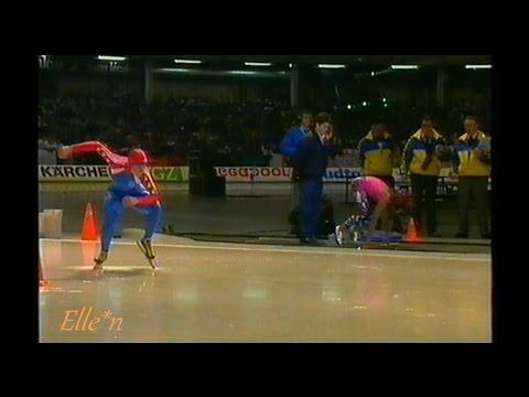 Veronica IJsgala Heerenveen 1990 - Nelli Cooman - Bonnie Blair 60 m